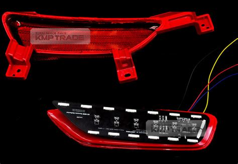 Led Bumper Reflektor All New Livina 2014 rear reflector sequential led light module for kia 2014 2016 all new sorento