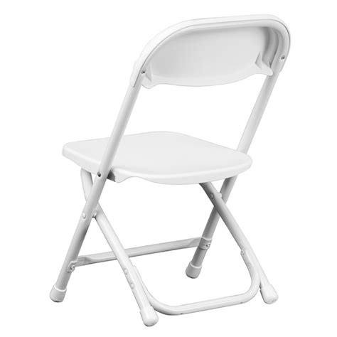 white plastic folding chair y kid wh gg