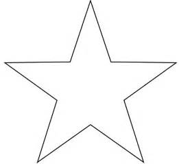 star template printable clipart best