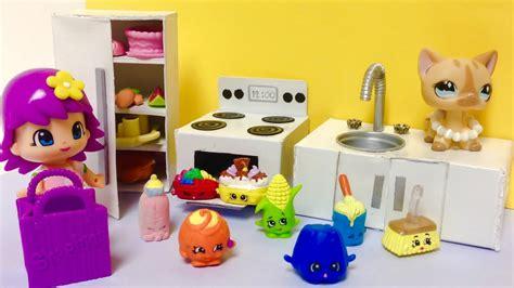 cocina de juguete  shopkinspinypon  munecas