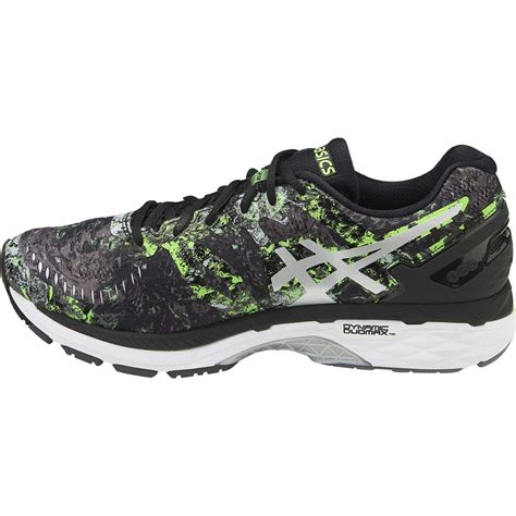 Original Asics Gel Kayano 23 Blue Silver Running Shoes asics gel kayano 23 limited edition mens running shoes