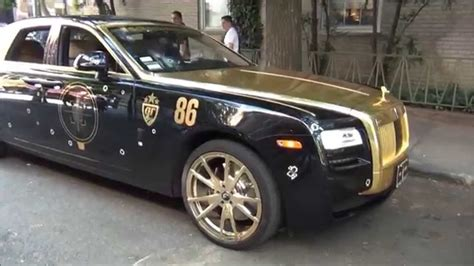 rolls royce gold gold black rolls royce ghost