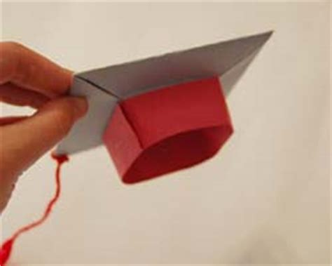 How To Make Paper Graduation Hats - paper graduation cap