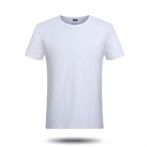 Tshirt Kaos This Time Brand brand new solid white blank t shirt boys casual