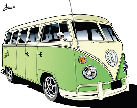 volkswagen bus art vw cer van vectorial motor pinterest vw vw