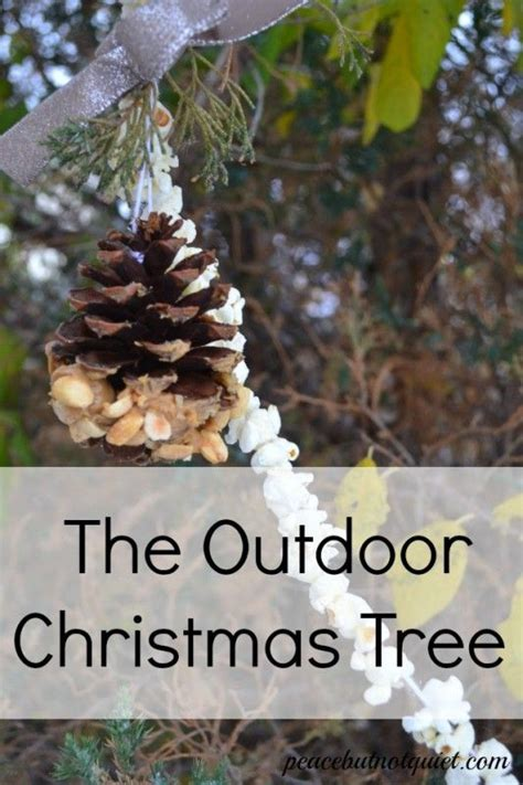 25 best ideas about outdoor christmas trees on pinterest