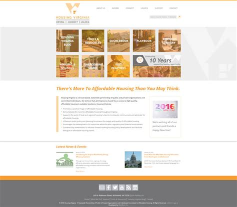 housing websites housing virginia website webworx inc