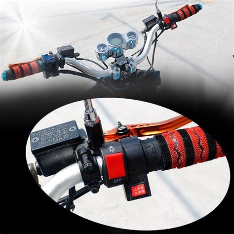 Saklar On Tombol Switch On Stang Motor Scarlet 5023 saklar lu stang motor universal saklar lu untuk