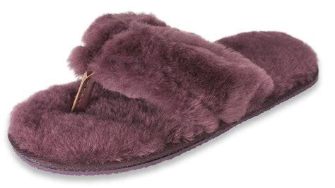 shearling flip flop slippers s sheepskin flip flop slippers nordvek ridgeway