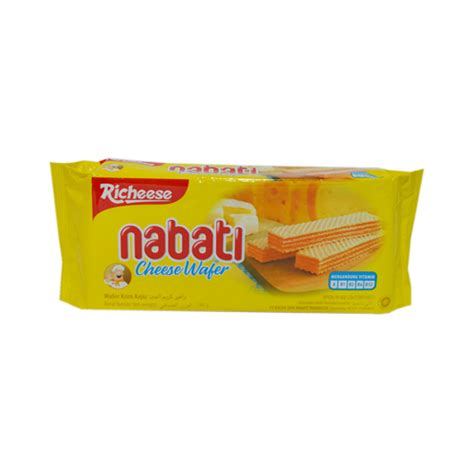 richeese nabati wafer keju 145gr 040529 mirota kus