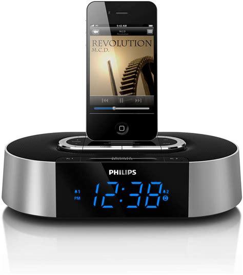 alarm clock radio  ipodiphone ajd philips