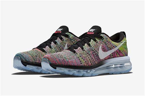 Nike Flyknit Airmax Multi Color nike women s flyknit air max multi color freshness mag