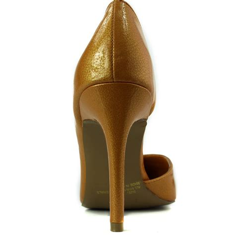 Pointed High Heel Pumps s sophticated classic pointed toe open side high