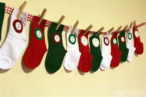 sock advent calendar diy sock advent calendar