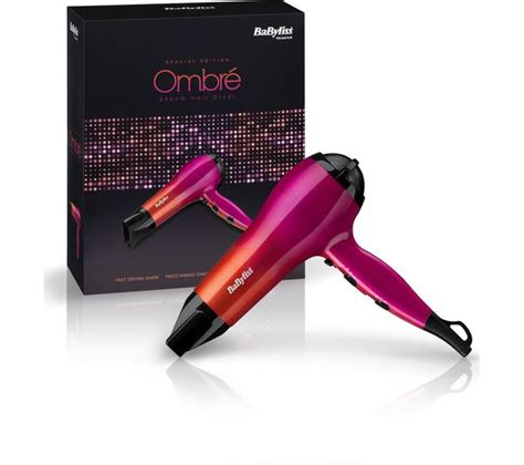 Babyliss Hair Dryer Currys buy babyliss ombre 5736u hair dryer pink orange free