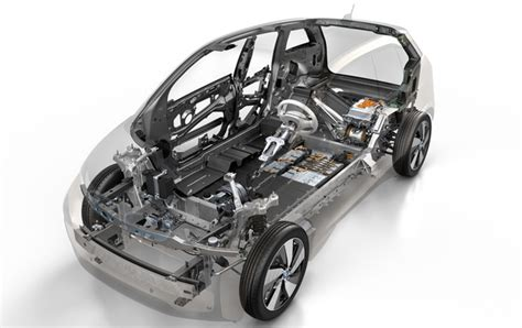 Electric Car Chassis Design Dive The Bmw I3 Electric Car S Carbon Fiber
