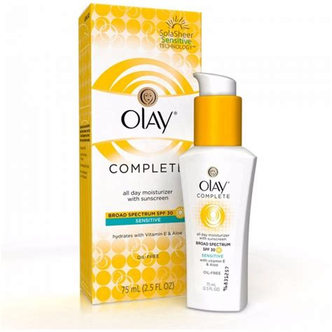 Olay Spf 30 olay complete defence daily uv moisturizer spf 30 beautance cosmetics superstore