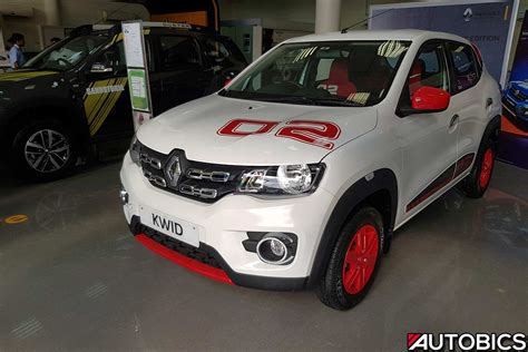 renault kwid white renault kwid 2nd anniversary edition video and images