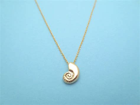 shell pendants jewelry ariel voice seashell gold necklace ariel voice shell