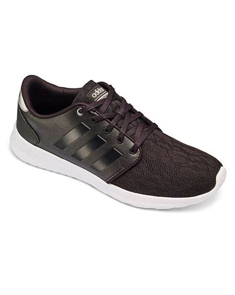 adidas qt racer adidas cloudfoam qt racer trainers simply be