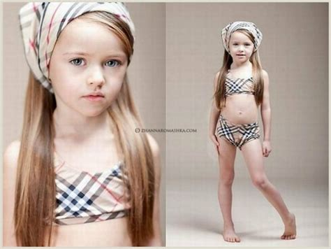 little cuties 12 year old models doll faced four year old russian model melts hearts saves