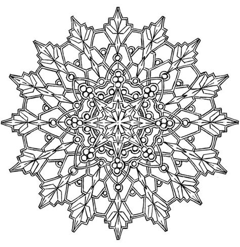 beautiful coloring pages for adults kaleidoscope design