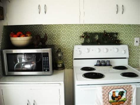 temporary kitchen backsplash 30 unique and inexpensive diy kitchen backsplash ideas you