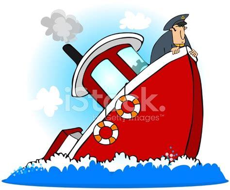 pelicula de un barco que se hunde capit 225 n de un barco que se hunde stock vector freeimages