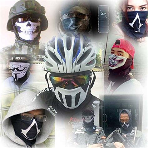 Buff Headware Bandana Masker 309 V For Vendetta Uv Protection Fishing Buff Mask Scarf