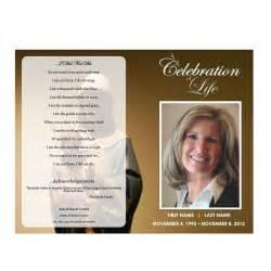 sles of funeral programs funeral program funeral phlets