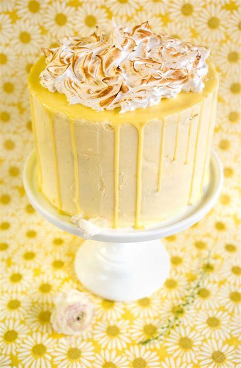 25  best ideas about Lemon Meringue Cake on Pinterest