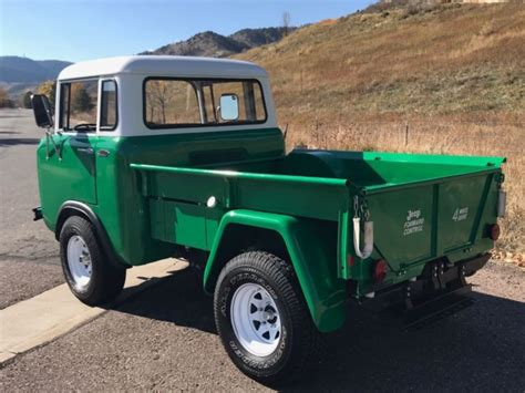 willys jeep fc   restored