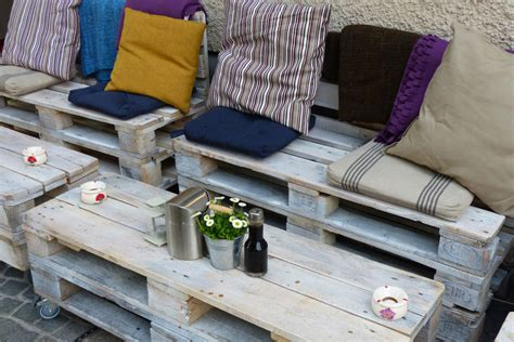 paletten möbel bauen balkon design paletten