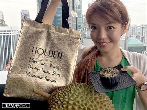 golden moments mao shan wang durian snow skin mooncake review