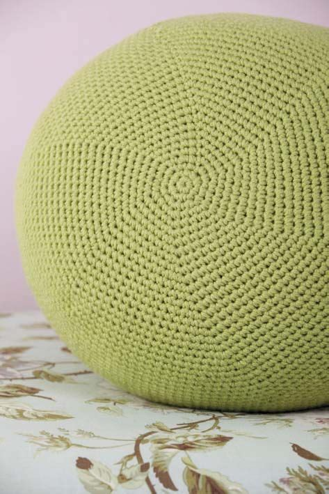 crochet ottoman pattern the 44 best images about crochet on pinterest floor