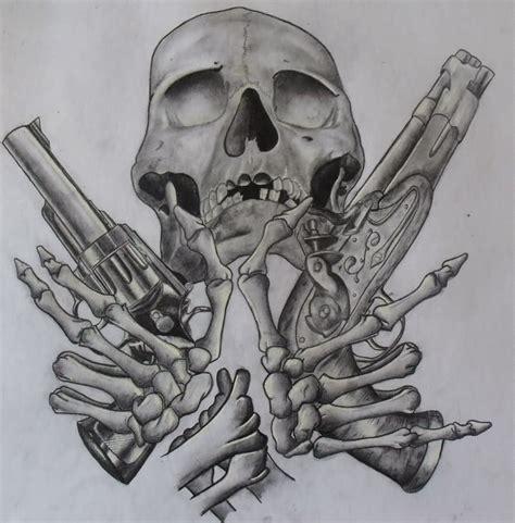 tattoo gun blueprint pistol tattoos designs and ideas page 10 tattoo
