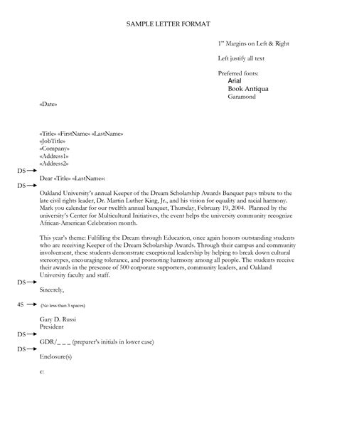 Business Letter Format Enclosure do you write enclosure at the bottom of a cover letter