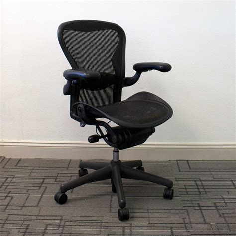 Used Desk Chairs - used herman miller aeron chairs size b vision office
