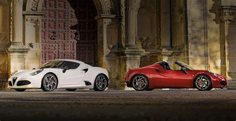 Alfa Romeo Usa 4c by Alfa Romeo 4c Coupe And 4c Spider Sports Cars Alfa Romeo Usa