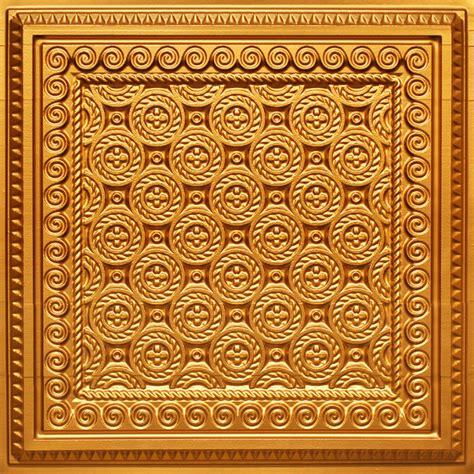 gold ceiling tiles pvc gold pvc faux tin look ceiling tiles 24 x 24 qty