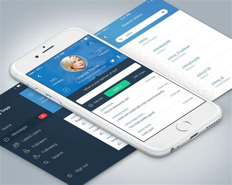 design application c high end mobile application ui design ios android by