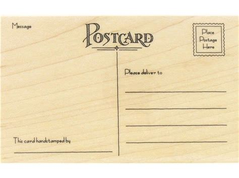 hobby lobby rubber sts postcard rubber st hobbies lobbies and wish list