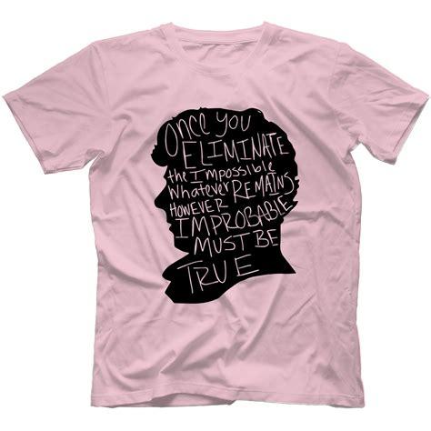 Sweater I Believe In Sherlock Harmony Merch sherlock inspired t shirt 100 cotton benedict cumberbatch moriaty ebay