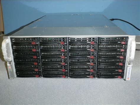 home storage server inexpensive pre owned 24 bay 4u storage servers available