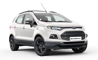 Ecosport Ford Ford Ecosport Black Edition Launched Prices Start At Rs