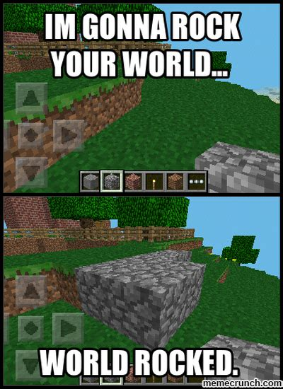 Mine Craft Meme - minecraft