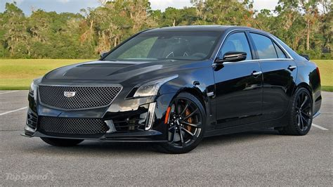 2017 Cadillac Cts Horsepower by 2017 Cadillac Cts V Driven Top Speed