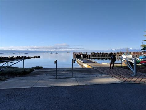 boat launch lake tahoe tahoe vista recreation area boat launch is open north