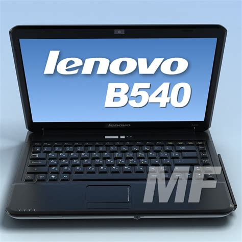 Laptop Lenovo B450 Baru mf 3d models