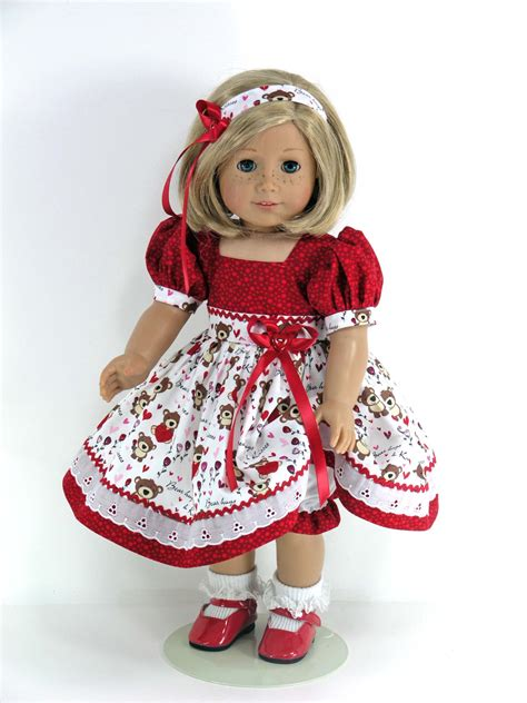 handmade 18 inch doll clothes for american dress